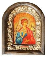 Ангел Хранитель. Икона Иерусалимская арочная