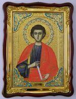 Апостол Филипп (пояс), в фигурном киоте, с багетом. Храмовая икона (60 Х 80)