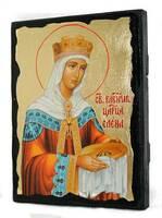 Елена Св.Рн.Ап.Цр. (цвет), икона синайская, 13 Х 17