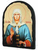 Ксения Петербургская, икона синайская, арка, 17 Х 23