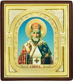 Николай Чудотворец, средняя аналойная икона, риза (Д-1с-26)
