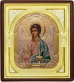 Ангел Хранитель, средняя аналойная икона, риза (Д-1с-05)
