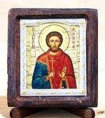 Валерий Св.Муч., Икона Византикос, полуоклад, 8Х6