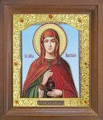 Анастасия, Св.Мч. Икона в деревянной рамке с окладом (Д-26псо-101)