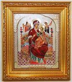 Всецарица Б.М. Икона в багетной рамке 14 Х 16