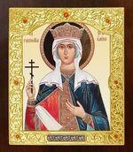 Елена Св.Рн.Ап.Цр. Икона в окладе средняя (Д-21-117)