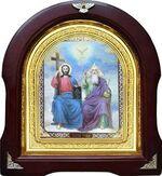 Троица. Аналойная арочная икона (А-61)