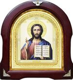 Спаситель. Аналойная арочная икона (А-22)
