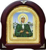 Ксения Петербургская. Аналойная арочная икона (А-36)
