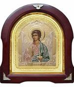 Ангел Хранитель. Аналойная арочная икона (А-05)