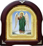 Ангел Хранитель. Аналойная арочная икона (А-06)