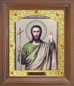 Иоанн Предтеча. Икона в деревянной рамке с окладом (Д-26псо-127)