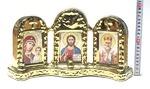 Иконостас большой, керамика, цвет золото (СА).