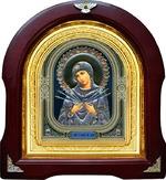 Семистрельная Б.М. Аналойная арочная икона (А-53)
