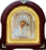 Казанская Б.М. Аналойная арочная икона (А-07)