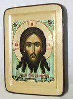 Спас Нерукотворный, икона Греческая, 13 Х 17