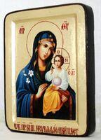 Неувядаемый цвет Б.М., икона Греческая, 13 Х 17