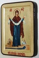 Покров Б.М., икона Греческая, 13 Х 17