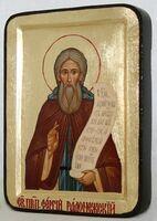Сергий Радонежский (пояс), икона Греческая, 13 Х 17