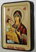 Троеручица Б.М., икона Греческая, 13 Х 17