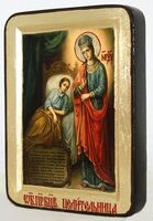 Целительница Б.М., икона Греческая, 13 Х 17