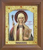 Нина Св.Рн.Ап. Икона в деревянной рамке с окладом (Д-26псо-138)