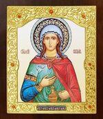 Светлана, Св.Муч. Икона в окладе средняя (Д-21-148)