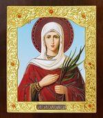Татьяна, Св.Муч. Икона в окладе средняя (Д-21-156)