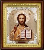 Спаситель,икона в деревянной рамке (Д-18пс-16)