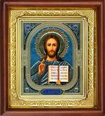 Спаситель, икона в деревянной рамке (Д-16пс-18)