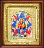 Неопалимая Купина Б.М., икона в деревянной рамке (Д-16пс-41)
