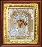 Казанская Б.М., икона в деревянной рамке (Д-16пс-07)