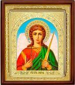 Ангел Хранитель, икона в деревянной рамке (Д-18пс-02)