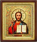 Спаситель,икона в деревянной рамке (Д-18пс-19)
