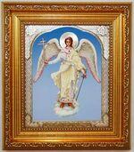 Ангел Хранитель (рост), икона в багетной рамке 14 Х 16