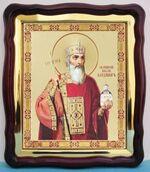 Владимир Равноап. князь, в фигурном киоте, с багетом. Храмовая икона (43 Х 50)
