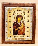 Иверская Б.М., Икона Византикос, полуоклад, 12Х14