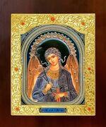 Ангел Хранитель. Икона в окладе средняя (Д-21-04)