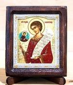 Роман Сладкопевец, Икона Византикос, полуоклад, 8Х6