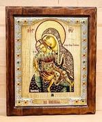 Киккская Б.М., Икона Византикос, полуоклад, 12Х14