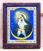 Остробрамская Б.М., Икона Византикос, полуоклад, 12Х14