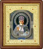 Николай Чудотворец, средняя аналойная икона (Д-20пс-28)