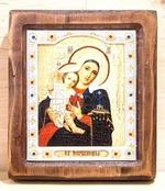 Покрывающая Б.М., Икона Византикос, полуоклад, 12Х14