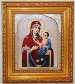 Иверская  Б.М. Икона в багетной рамке 14 Х 16