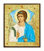 Ангел Хранитель. Икона в окладе малая (Д-22-03)