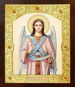 Ангел Хранитель. Икона в окладе средняя (Д-21-03)