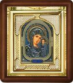 Казанская Б.М., малая аналойная икона, риза (Д-3с-10)