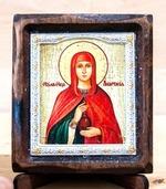 Анастасия Св.Мч., Икона Византикос, полуоклад, 8Х6