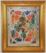 Неопалимая Купина Б.М. Икона в багетной рамке 19 Х 22