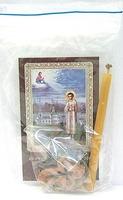 Артемий Веркольский. Набор для домашней молитвы (Zip-Lock). Лик, молитва, свечка, ладан, крестик